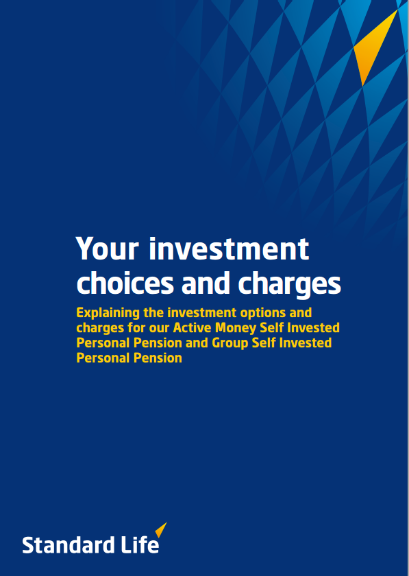 standard life group personal pension plan key features